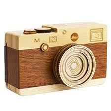 XUANLAN Creative Music Box Camera Wooden Music Box <b>Toy</b> ...