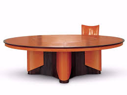 round leather meeting table with cable management planet round meeting table by mascheroni