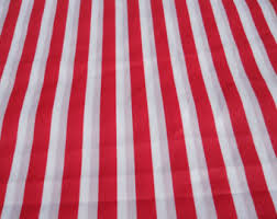 Small Picture Red striped fabric Etsy