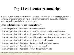 Call Center Representative Resume Custom Resume For Call Center Hcsclubtk