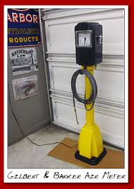 tire inflator gas station. gilbert and barker model am2e2 air meter. \ tire inflator gas station