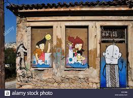 Cartoon Windows Door Stockfotos Cartoon Windows Door Bilder Alamy