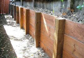 build a wooden retaining wall building a wood retaining wall our pressure treated wood retaining walls