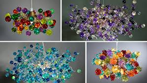 colorful chandelier lighting. 19 Very Colorful Handmade Chandelier Designs Lighting N