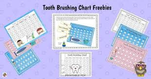Free Printable Tooth Brushing Chart Tooth Brushing Charts Free Download Wise Owl Factory