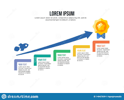 Step Chart In Powerpoint Infographic Step Template And Powerpoint Full Color Stock