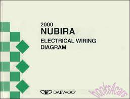 daewoo manuals at books4cars com 2000 nubira electrical shop service repair manual by daewoo for north american model b00 upj000 801