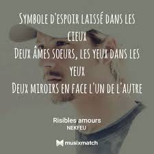 Nekfeu Risible Amour Discovered By Baka Mel
