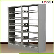 metal book shelves. Interesting Metal All Steel Construction Library Book Shelf Intended Metal Book Shelves D
