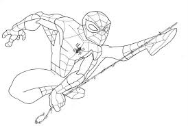 Small Picture Spider Man Drawings To ColorManPrintable Coloring Pages Free