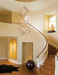 modern entryway lighting. Interesting Entryway Chandelier For Your Lighting Design: Unique Polished Brass Modern