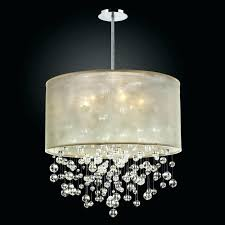 modern rectangle crystal chandelier light fixture used