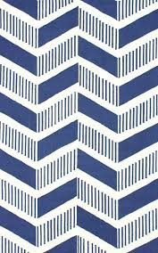 blue chevron rug area rugs two thirty five designs kitchen outdoor