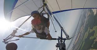 hang gliding on the eastern s of virginia