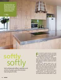 Kitchen With Soft Whitewash Effects And Resene Wasabi