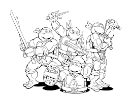 Small Picture Ninja Turtle Coloring Pages Pdf Archives And Ninja Turtles