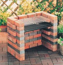 landmann diy make your own brick bbq i really like this idea outdoor kitchen here i come