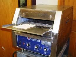 17268 bakers pride countertop conveyor oven