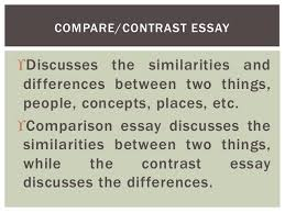 kinds of essay two kinds of essay