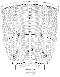 Oakland Seating Chart Paramount Theater Oakland Decent Seating Chart