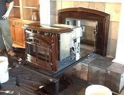 install wood burning fireplace beautiful install wood stove in fireplace fireplace insert custom installations ca can