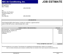 contractor quote template 44 free estimate template forms construction repair cleaning