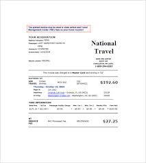 Travel Invoices Amazing 48 Travel Invoice Templates PDF DOC Excel Free Premium