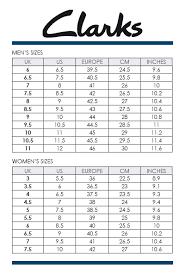 Clarks Us Size Chart Bedowntowndaytona Com