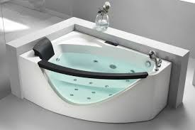 Modern Bathroom Design Pictures Beauteous EAGO AM48R 48' Right Drain Rounded Clear Modern Corner Whirlpool