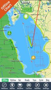 Lake George New York Gps Fishing Map Offline
