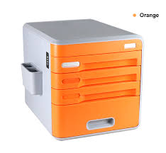 Office Lockable Cabinets Lockable Desk Storage Drawers Desktop Organizer 4 Drawer Home