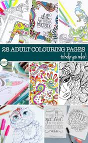 Amazing Adult Coloring Books Free Printable