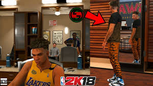 Nba 2k18 My Career Real Life Mod 3 Shopping My New Hair Cut