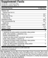 supplement facts triple chocolate deluxe vanilla