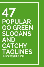 Short essay on go green