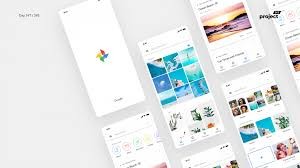 Material Design 2 0 Apps Day 247 Google Photos App Material 2 0 Redesign Concept