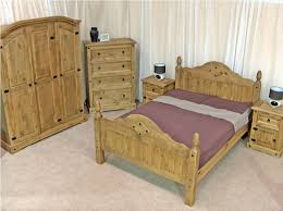 mexican pine furniture set for bedrooms