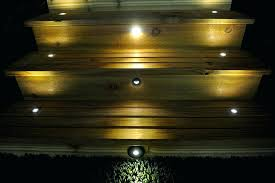 deck accent lighting. Led Step Lighting Lights Black Metal Trimmed Mini Round Deck Accent Light 1 Watt Stairway Kit
