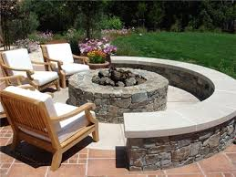 Outdoor Lighting Designs For Your Fire Pit Area  Outdoor Lighting Backyard Fire Pit Area