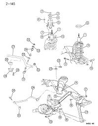 2004 Dodge Dakota Suspension Diagram