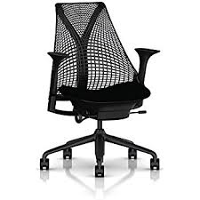 herman miller leather office chair. herman miller sayl task chair: tilt limiter - stationary seat depth height adj arms leather office chair