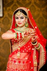 best bridal makeup for the kashmiri bride