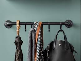The Coat Rack Wallmounted coat rack HANG IT ALL By Vitra design Charles Eames 95