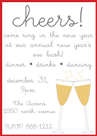 New Year's Eve Party Invitations by nikkihodum on Etsy