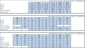 scrub size size charts measure your size scrubs com