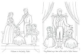 Sofia The First Coloring Pages Combined With Coloring Pages Of The