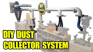 Shop Dust Collection Design Diy Dust Collector System With Homemade Blast Gates And Automatic Start Stop Function