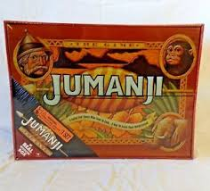 Real Wooden Jumanji Board Game New JUMANJI Board Game Cardinal Edition 100 In Real Wood Wooden 17