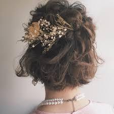ウエディングドレスのアナタをさらにキレイにしてくれる髪型特集hair