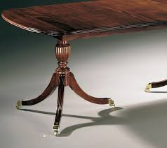 duncan phyfe double ped table JPG